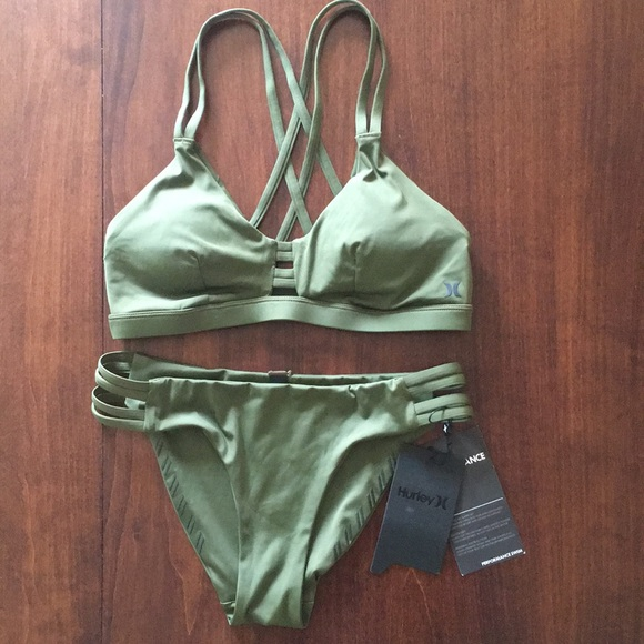 Hurley Quick Dry Max top and bottom
